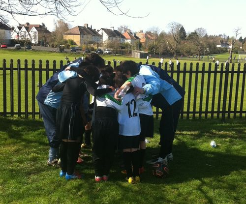 Team huddle (2)